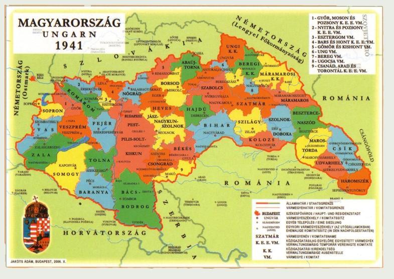 magyarország térkép 1941 Magyaros termékek és térképek   magyar nemzeti bolt, lehet az  magyarország térkép 1941
