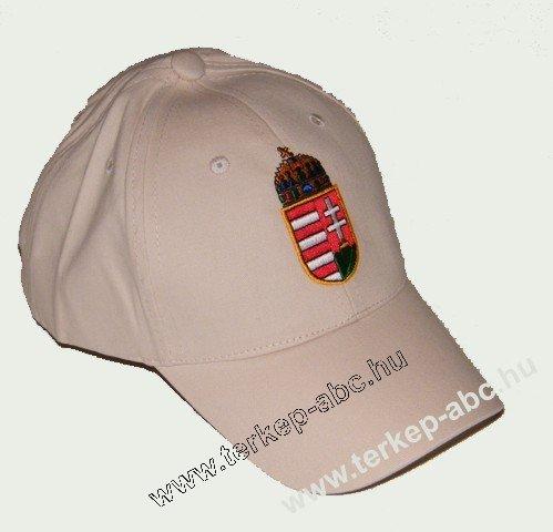 Baseball kicsi címeres világos bézs sapka   Magyaros termékek és ... 2364ff364a